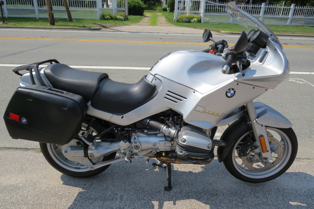2002 BMW R1150RS, motorcycle listing