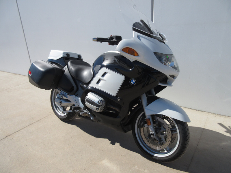 2002 BMW R1150RT, motorcycle listing
