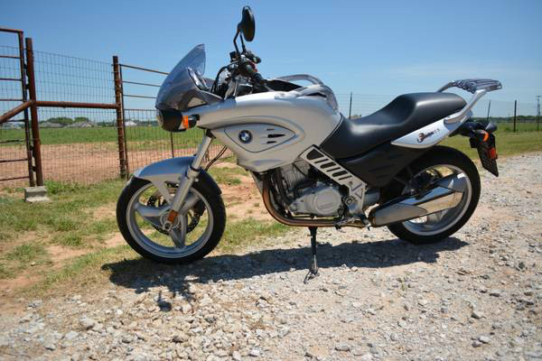 2003 BMW F 650 CS, motorcycle listing