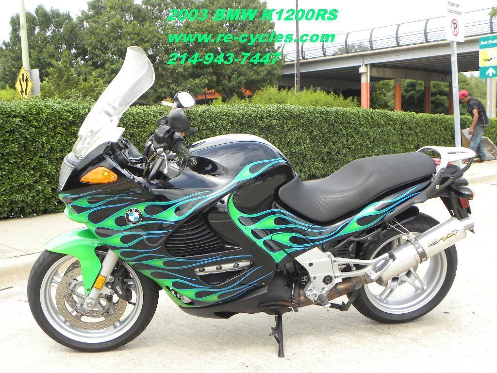 2003 BMW K1200RS, motorcycle listing