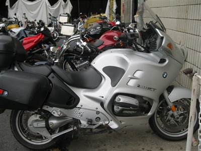 2003 BMW R1150RT, motorcycle listing