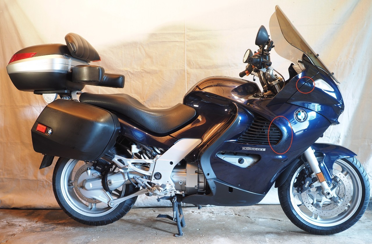 2004 BMW K 1200 GT, motorcycle listing