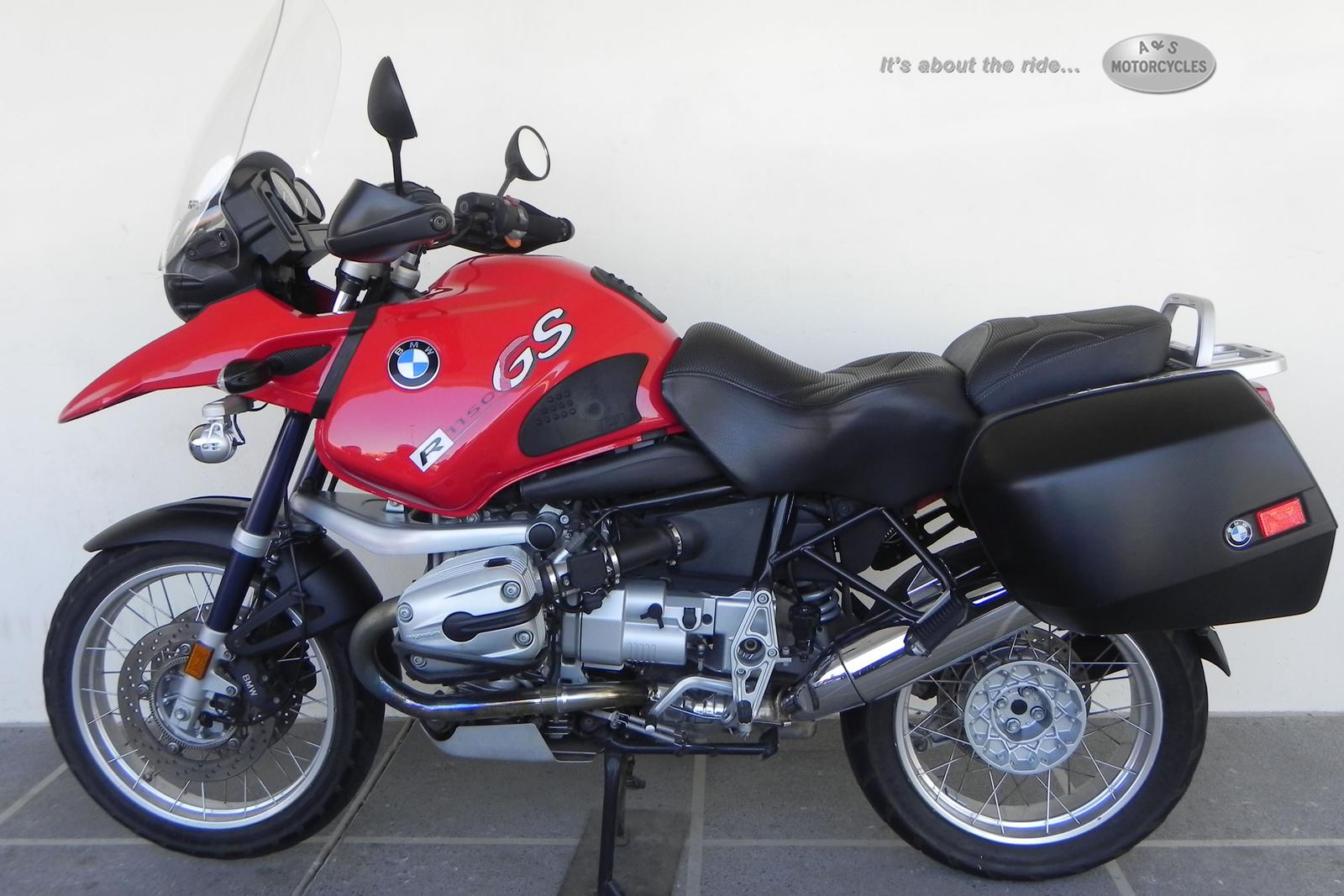 2004 BMW R1150GS, motorcycle listing