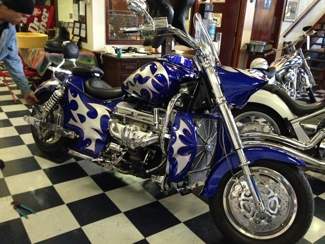 2004 Boss Hoss BHC-3, motorcycle listing