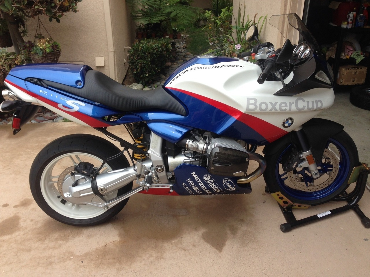 2005 BMW R 1100 S, motorcycle listing
