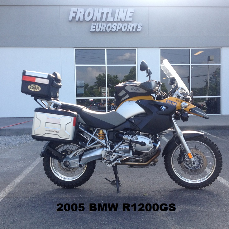 2005 BMW R1200GS, motorcycle listing