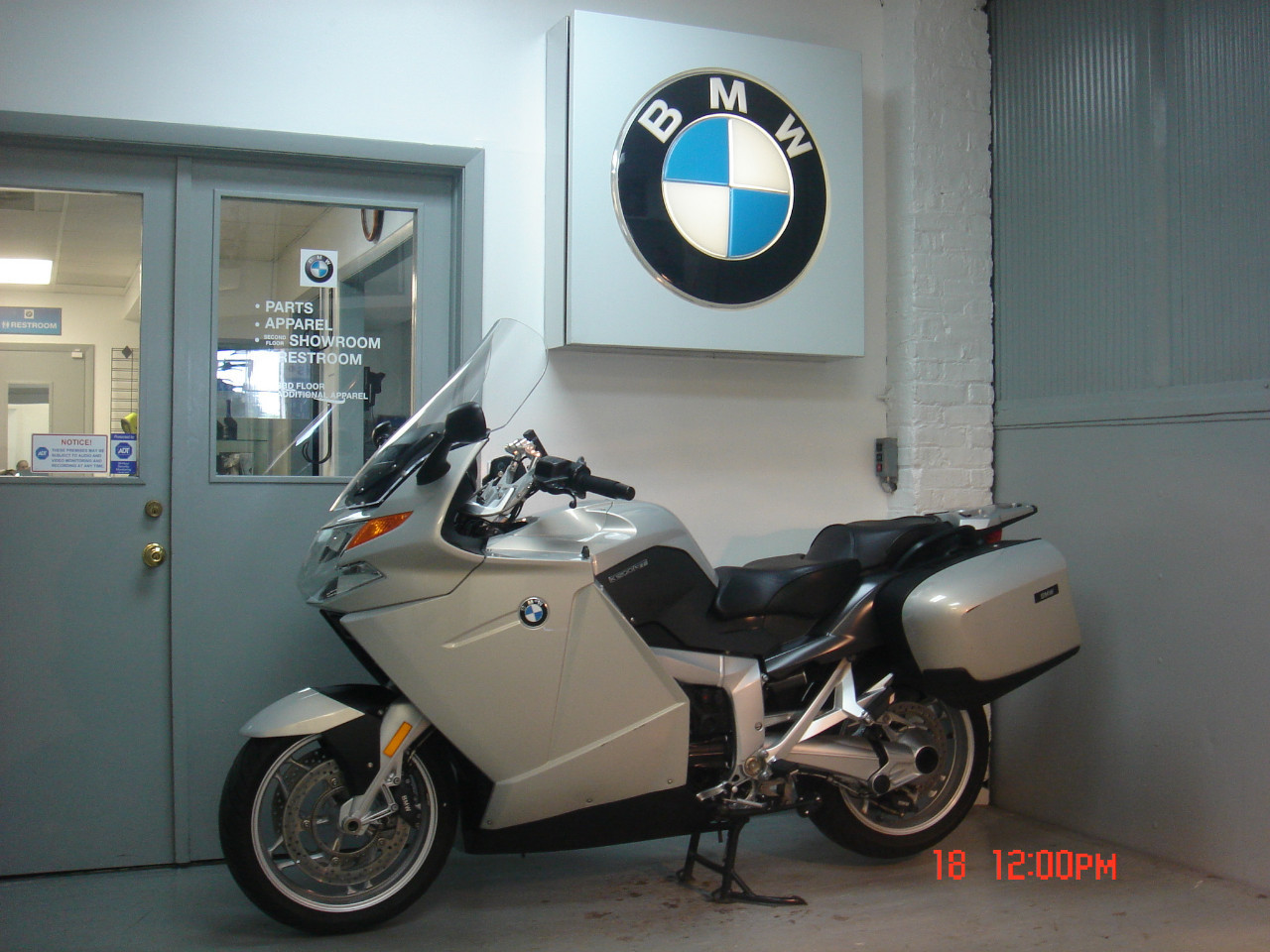 2006 BMW K1200GT, motorcycle listing