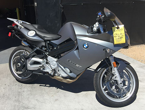 2007 BMW F800, motorcycle listing