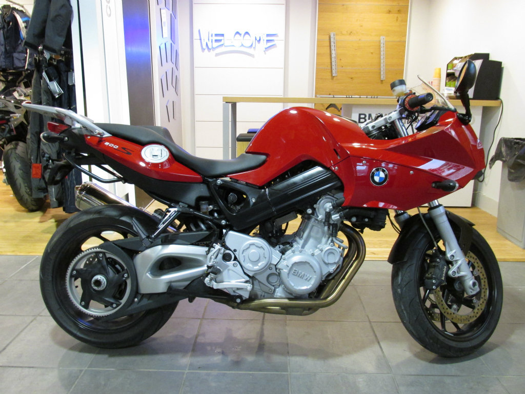 2007 BMW F800S, motorcycle listing