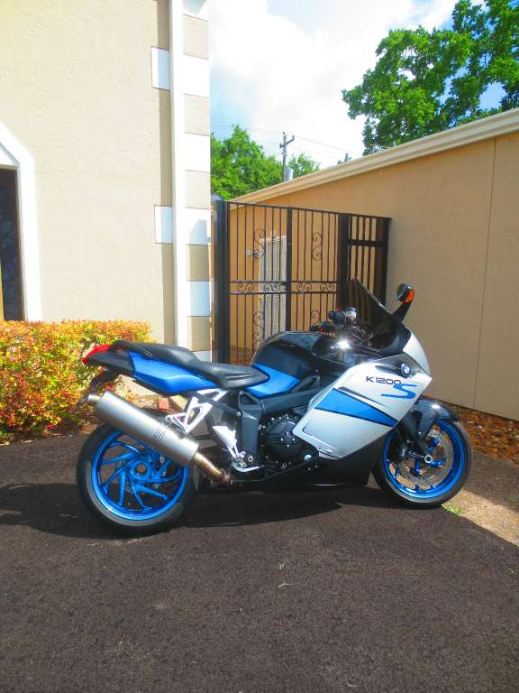 2007 BMW K 1200 S, motorcycle listing