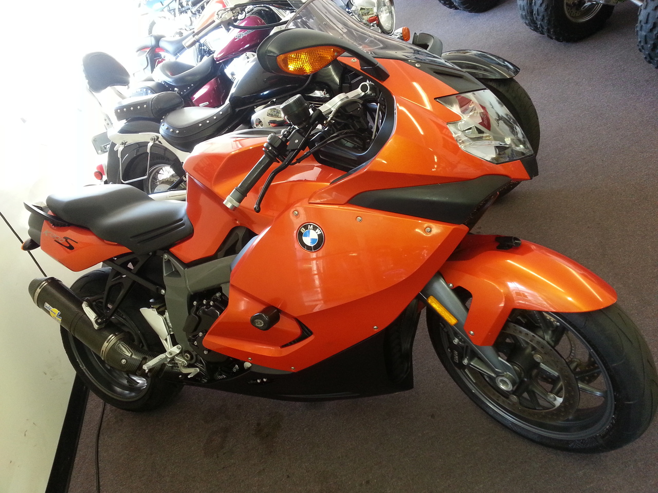 2008 BMW K 1300 S, motorcycle listing