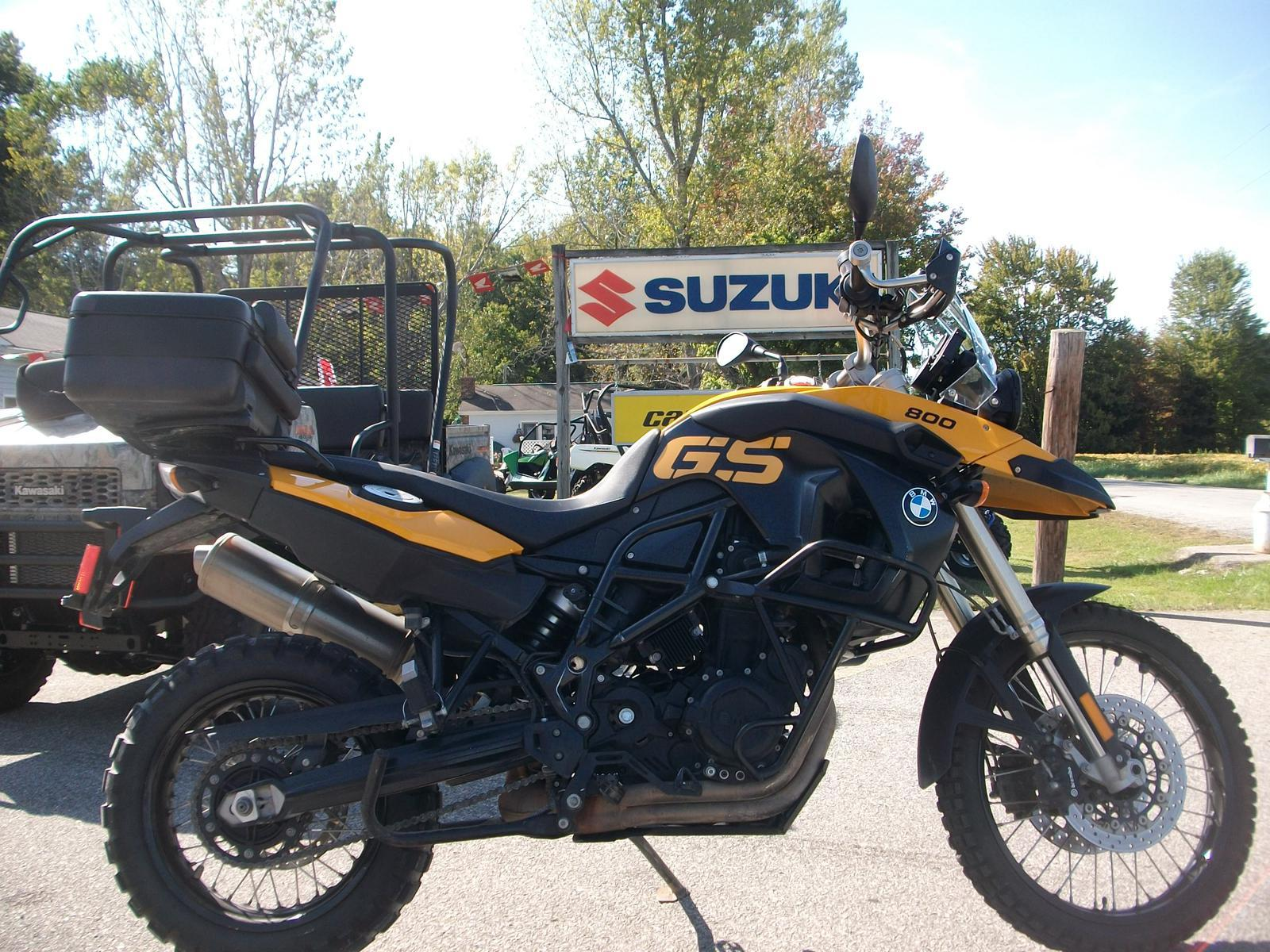 2009 BMW F800GS, motorcycle listing