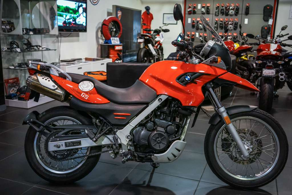 2009 BMW G 650 GS, motorcycle listing