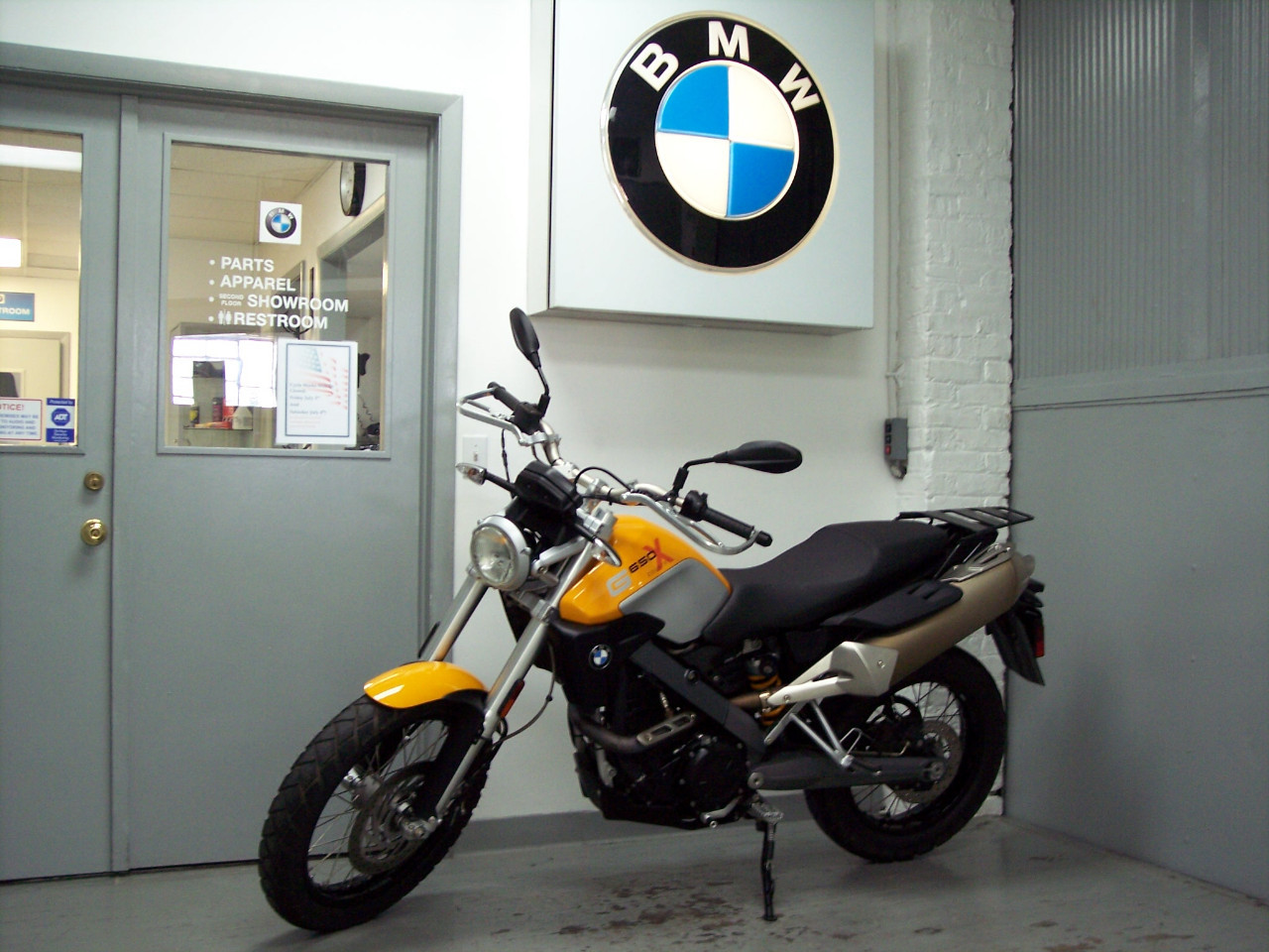 2009 BMW G650 X-Country, motorcycle listing