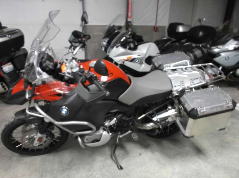 2009 BMW R 1200 GS Adventure, motorcycle listing
