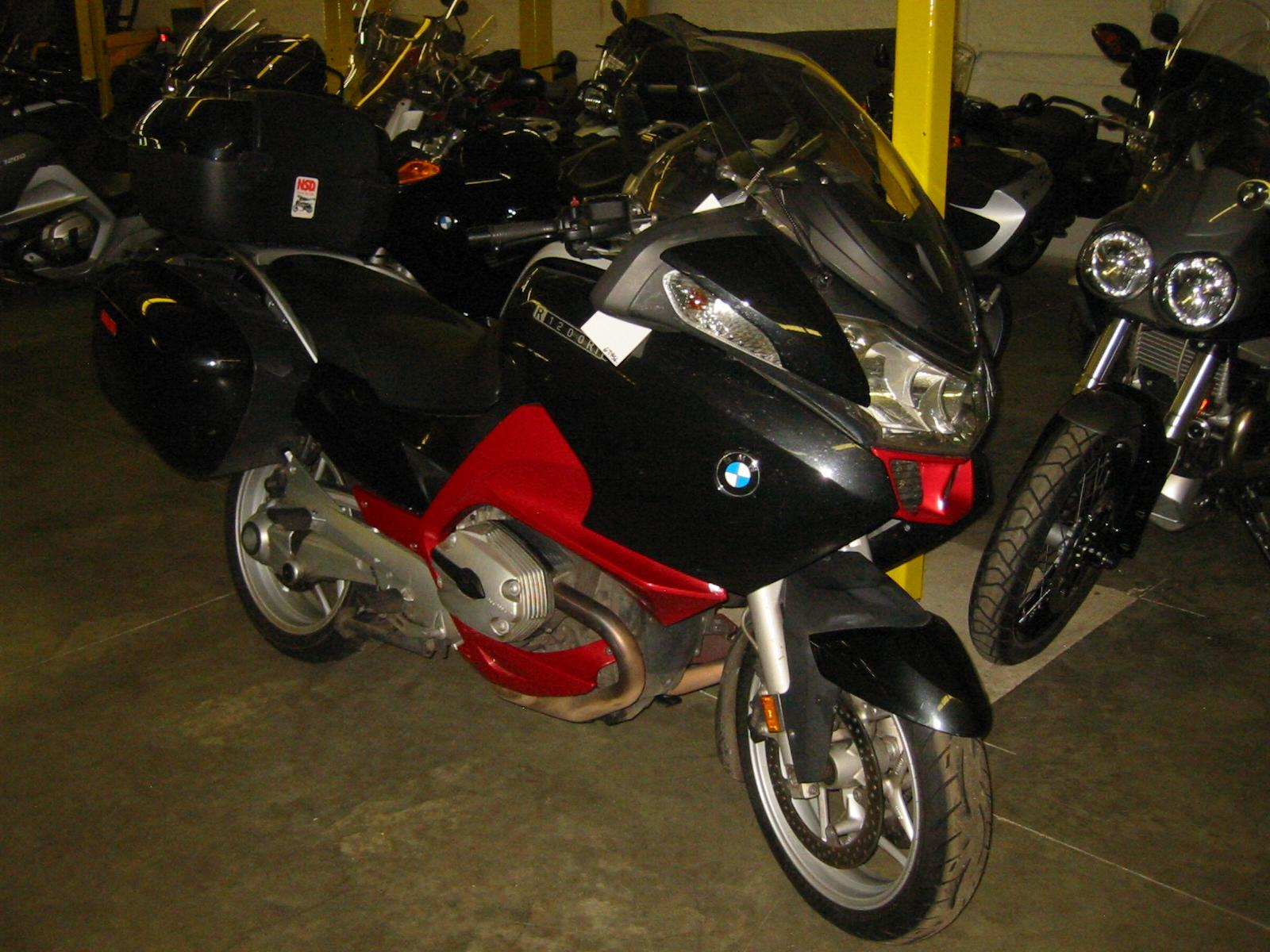 2009 BMW R 1200 RT PREMIUM, motorcycle listing
