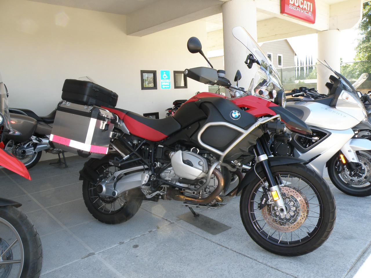 2009 BMW R1200GS Adventure, motorcycle listing