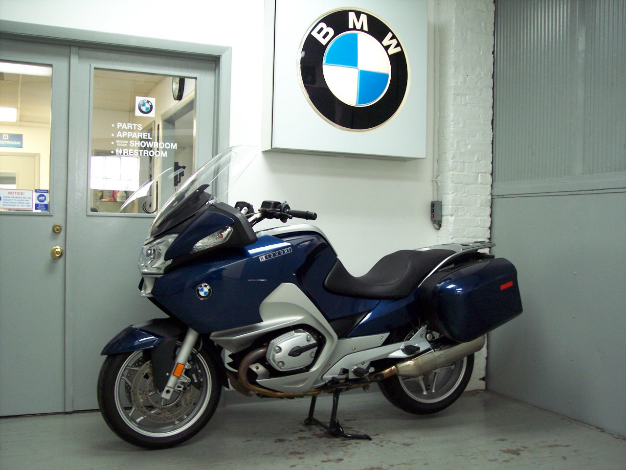 2009 BMW R1200RT LOW SEAT, motorcycle listing