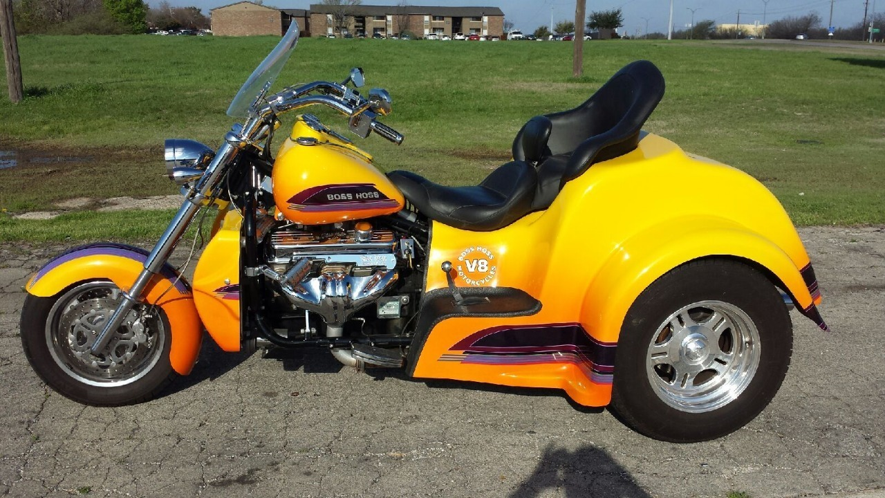 2009 Boss Hoss Low Boy Coupe, motorcycle listing