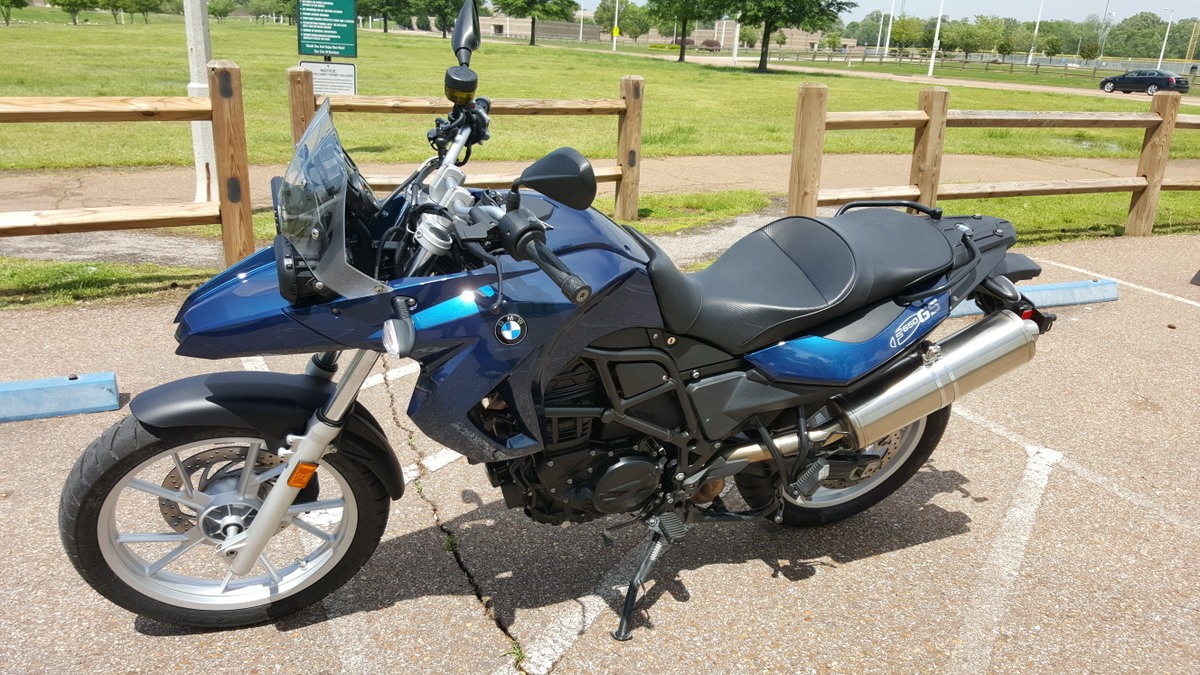 2010 BMW F 650 GS, motorcycle listing