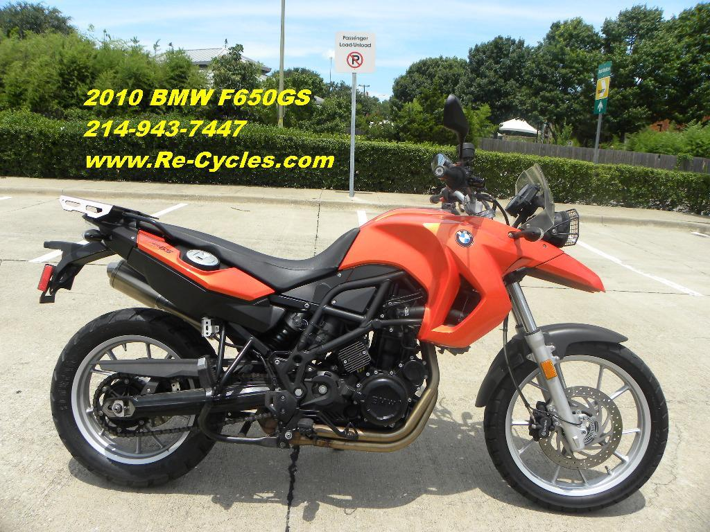 2010 BMW F650GS, motorcycle listing