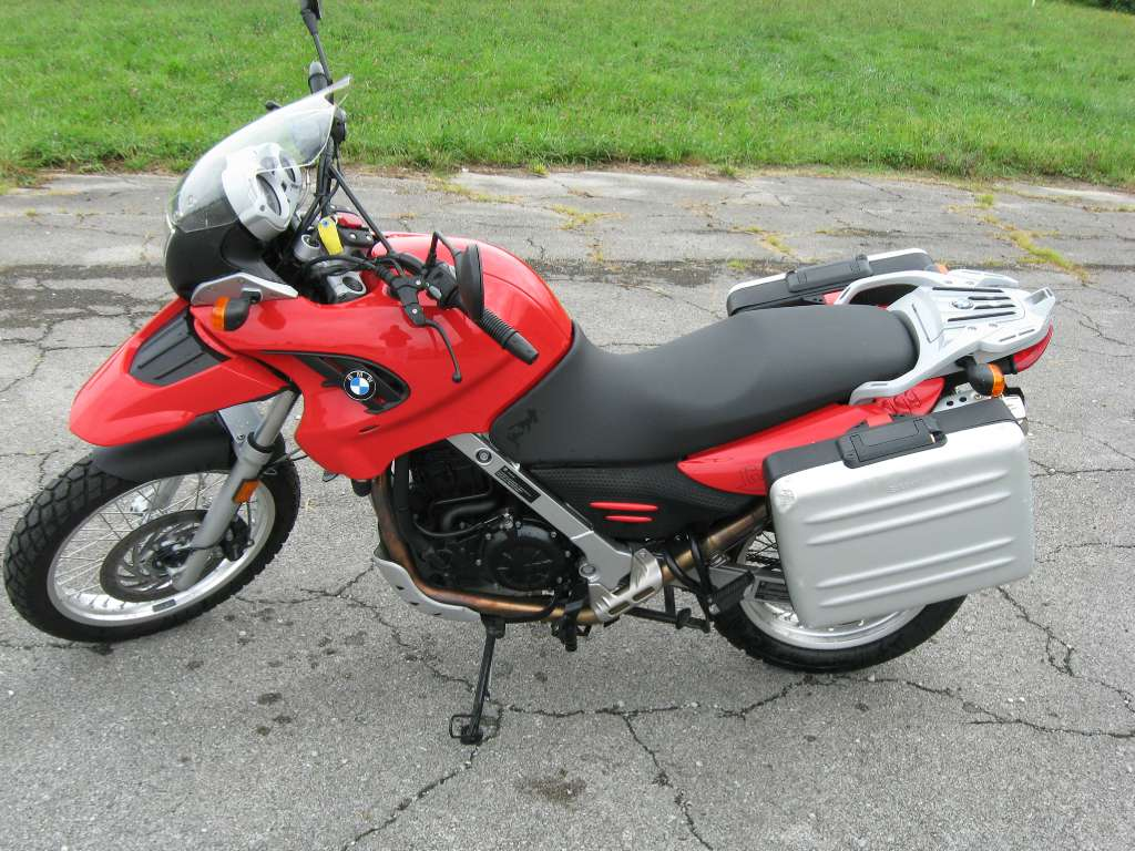 2010 BMW G 650 GS, motorcycle listing