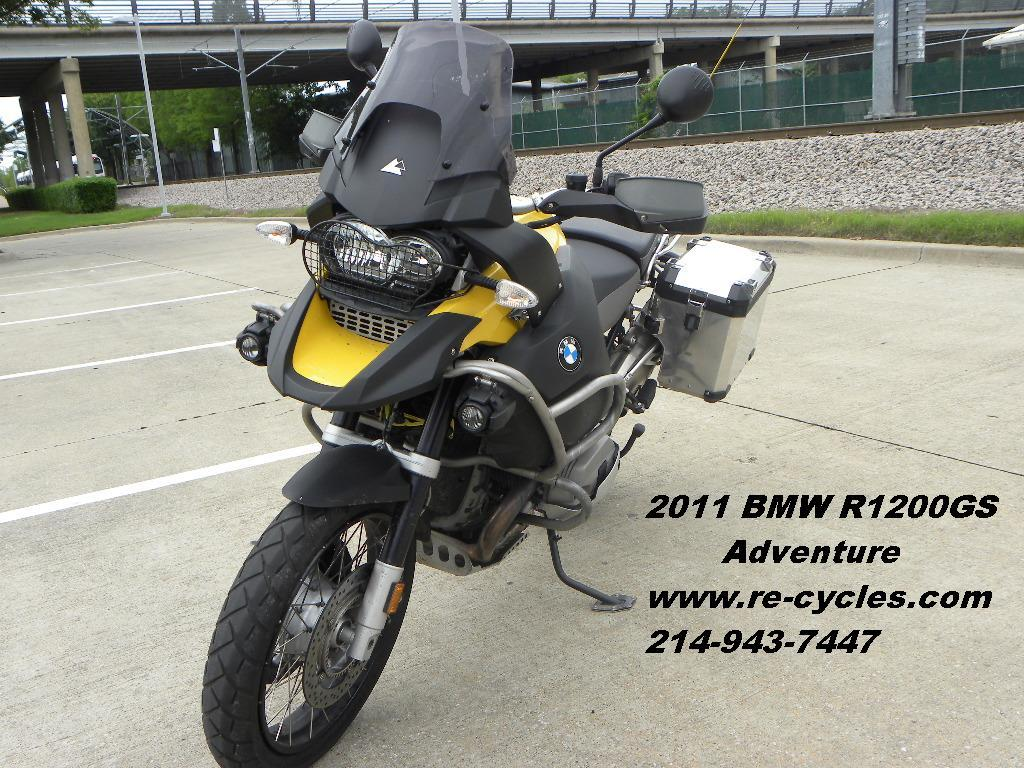 2011 BMW R1200GS Adventure, motorcycle listing