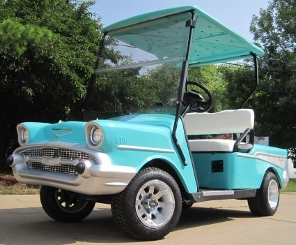 2011 Gsi 57 Chevy Custom Ez Go Golf Cart, motorcycle listing