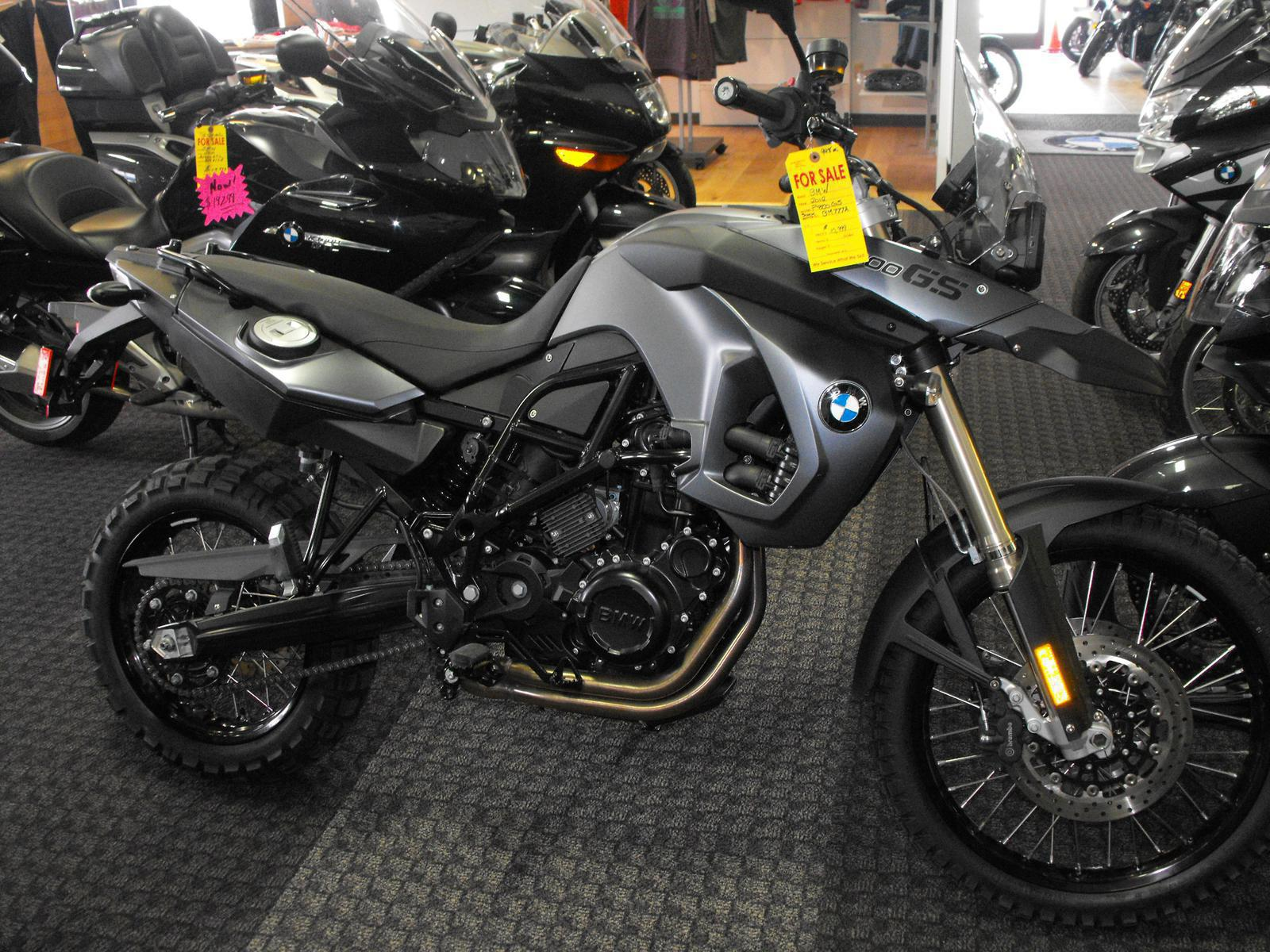 2012 BMW F800GS, motorcycle listing