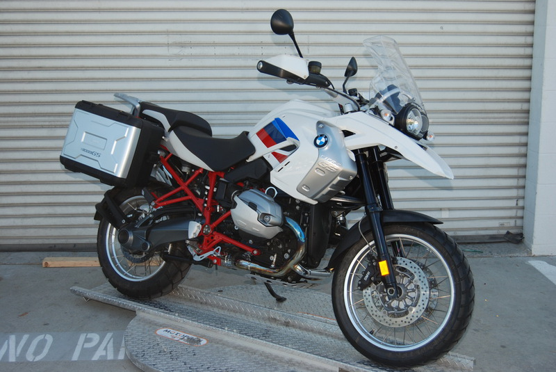 2012 BMW R 1200 GS Rally Edition, motorcycle listing