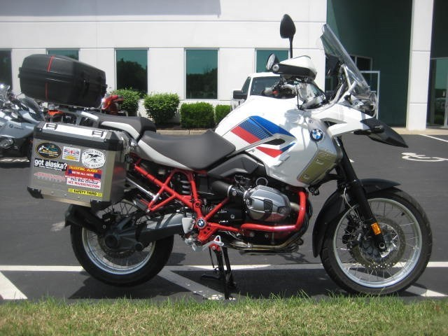 2012 BMW R1200GS RALLY, motorcycle listing