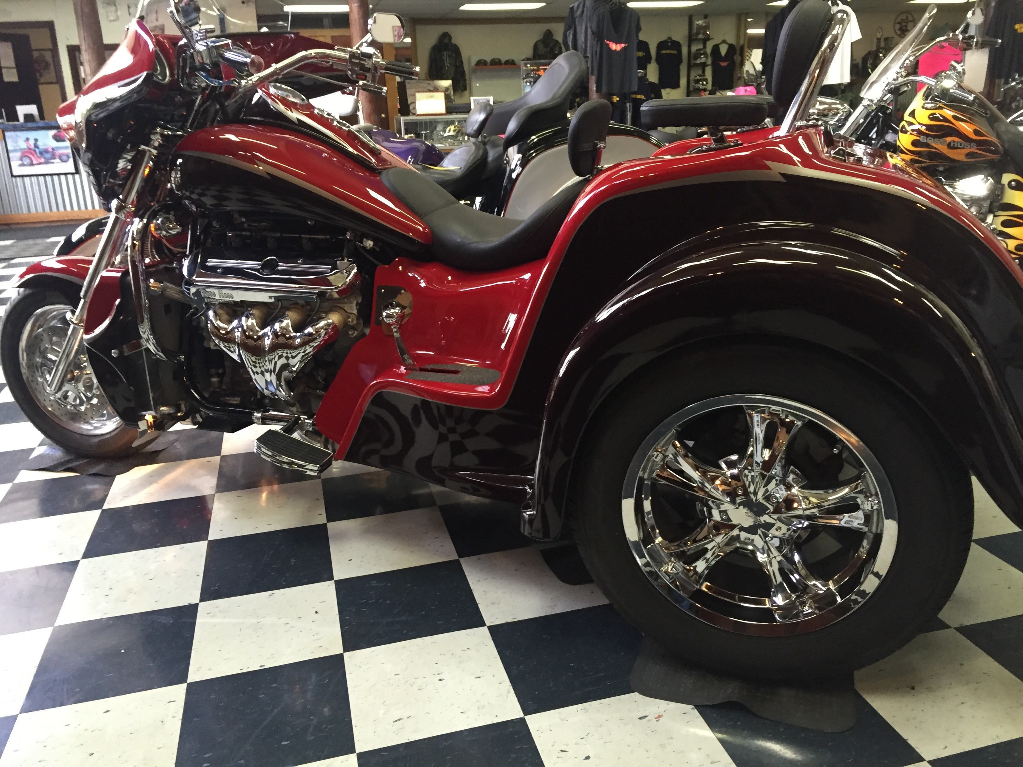 2012 Boss Hoss  BHC-9 LS445 32 ROADSTER TRIKE , motorcycle listing