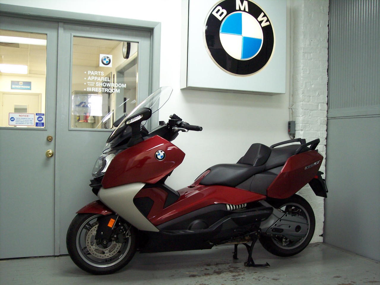 2013 BMW C650GT, motorcycle listing
