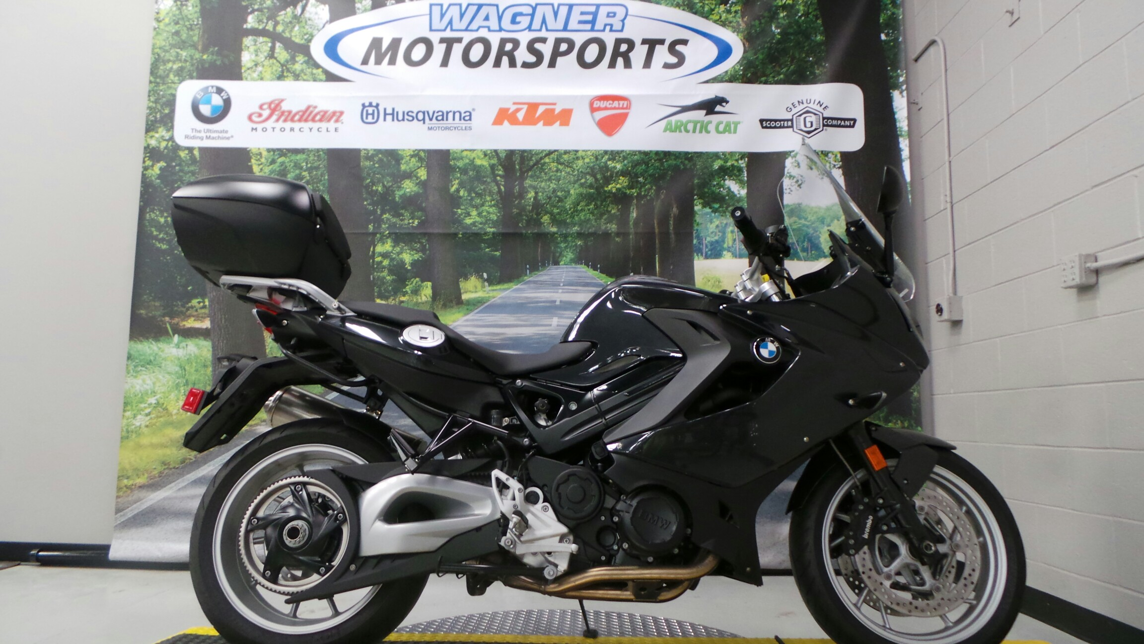 2013 BMW F 800 GT, motorcycle listing