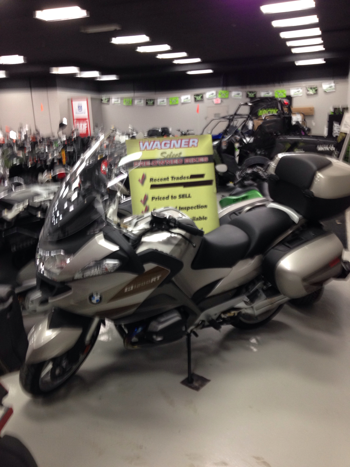 2013 BMW R1200RT, motorcycle listing