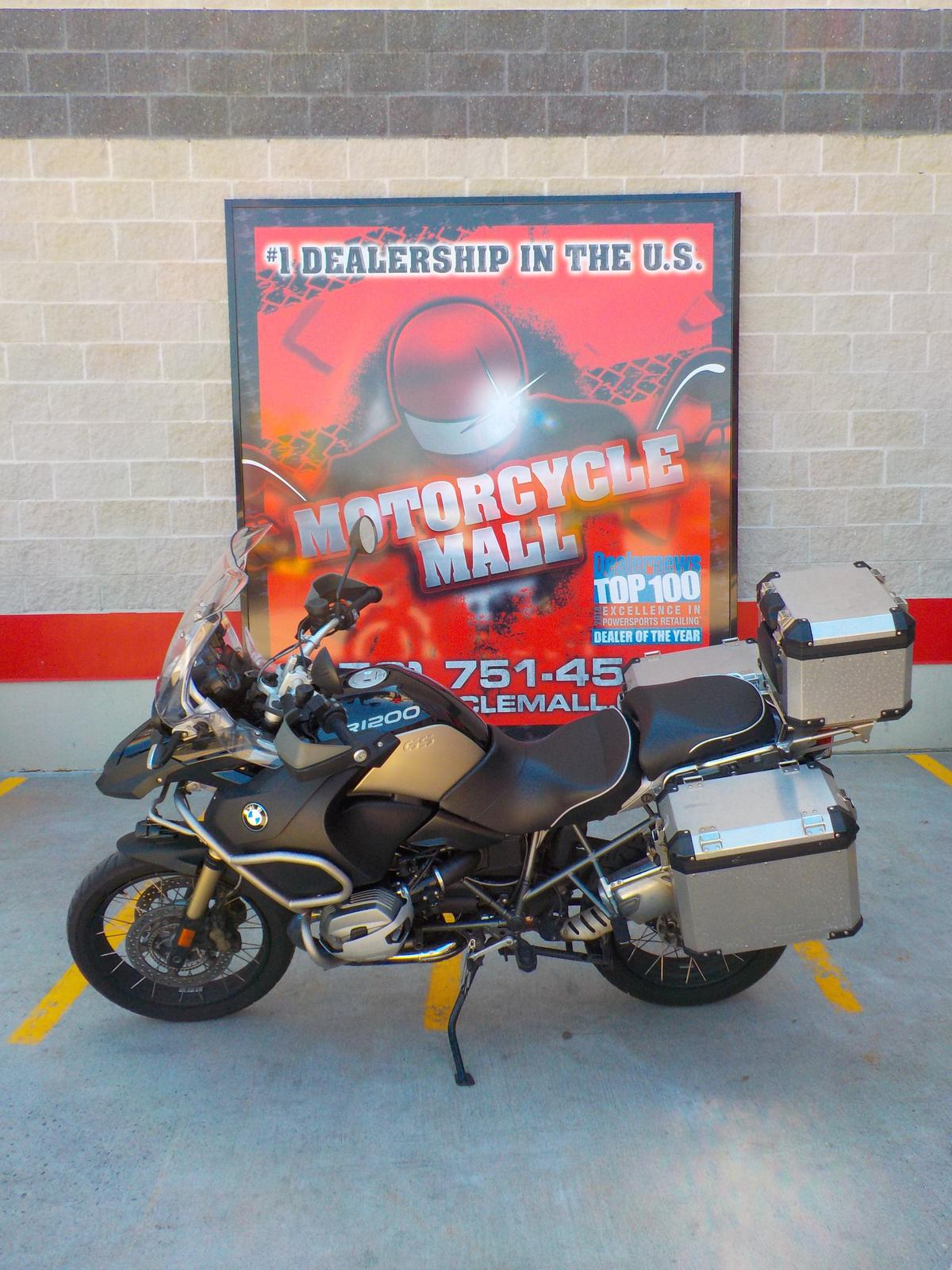 2013 BMW RS 1200, motorcycle listing