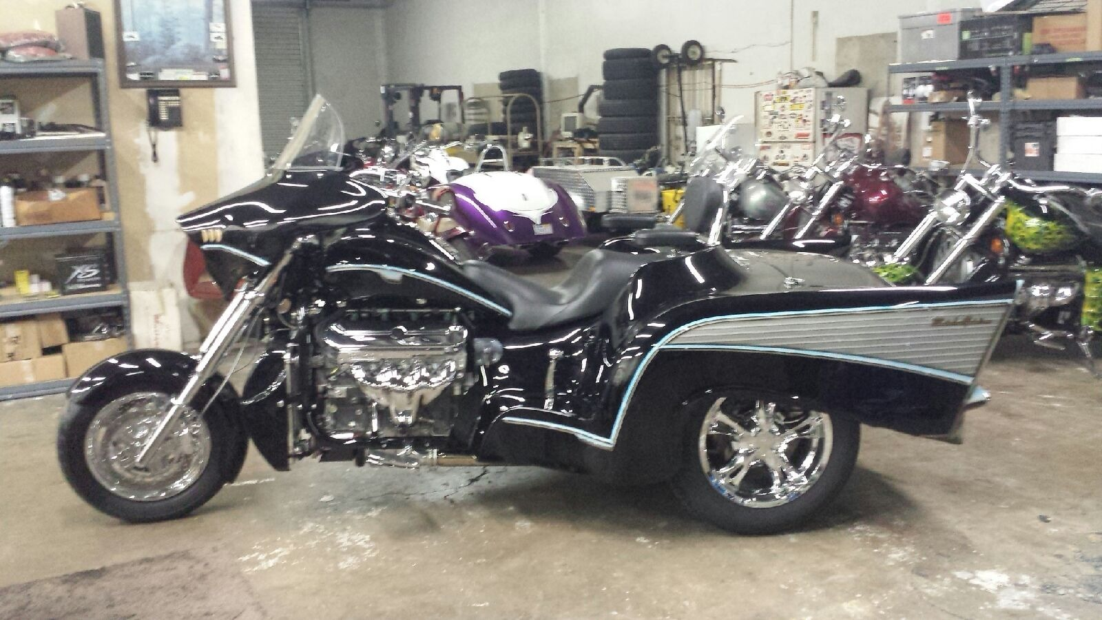 2014 Boss Hoss 57 Chevy., motorcycle listing