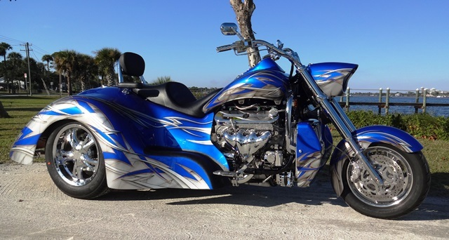 2015 Boss Hoss BHC-9 LS445, motorcycle listing