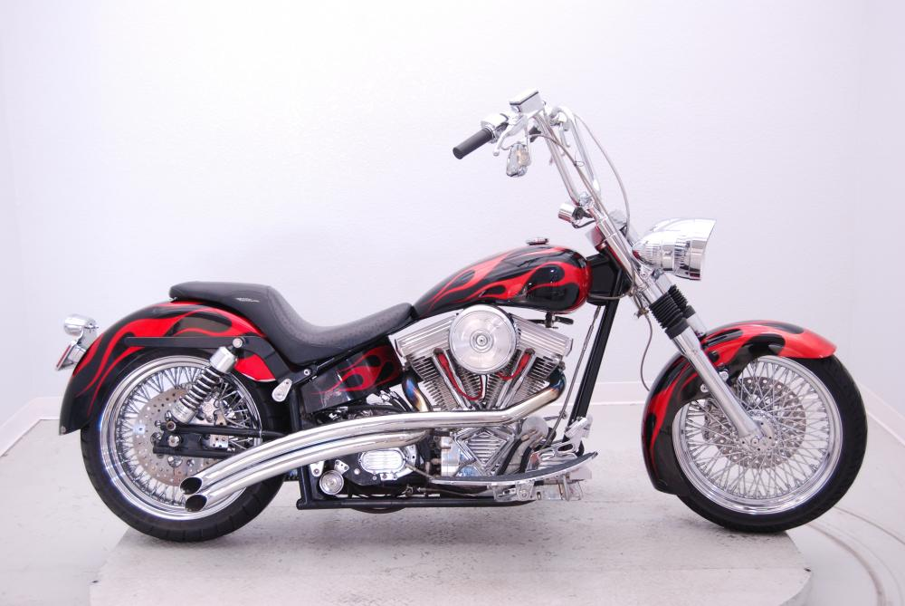 2001 Assembled CHOPPER, motorcycle listing