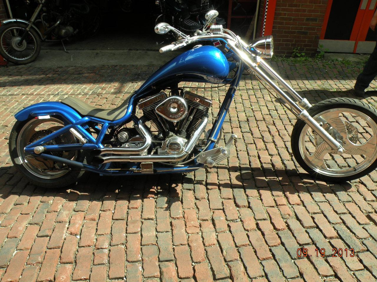 2002 Bourget chopper, motorcycle listing