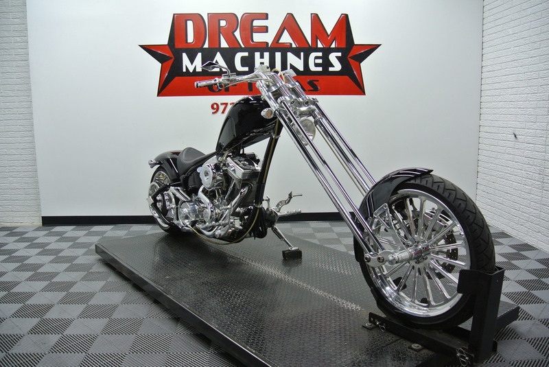 2006 Bourget Dragon 330 Softail Springer Chopper, motorcycle listing