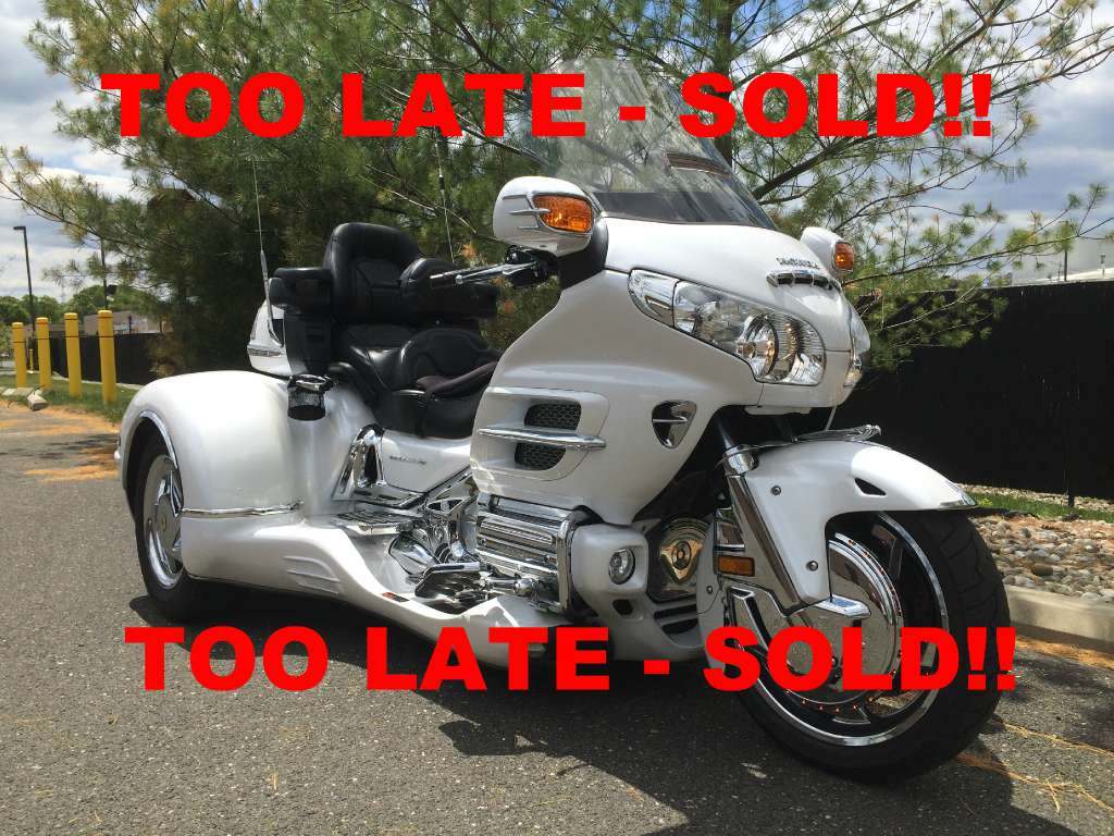 2008 California Side Car GL1800 Cobra, motorcycle listing