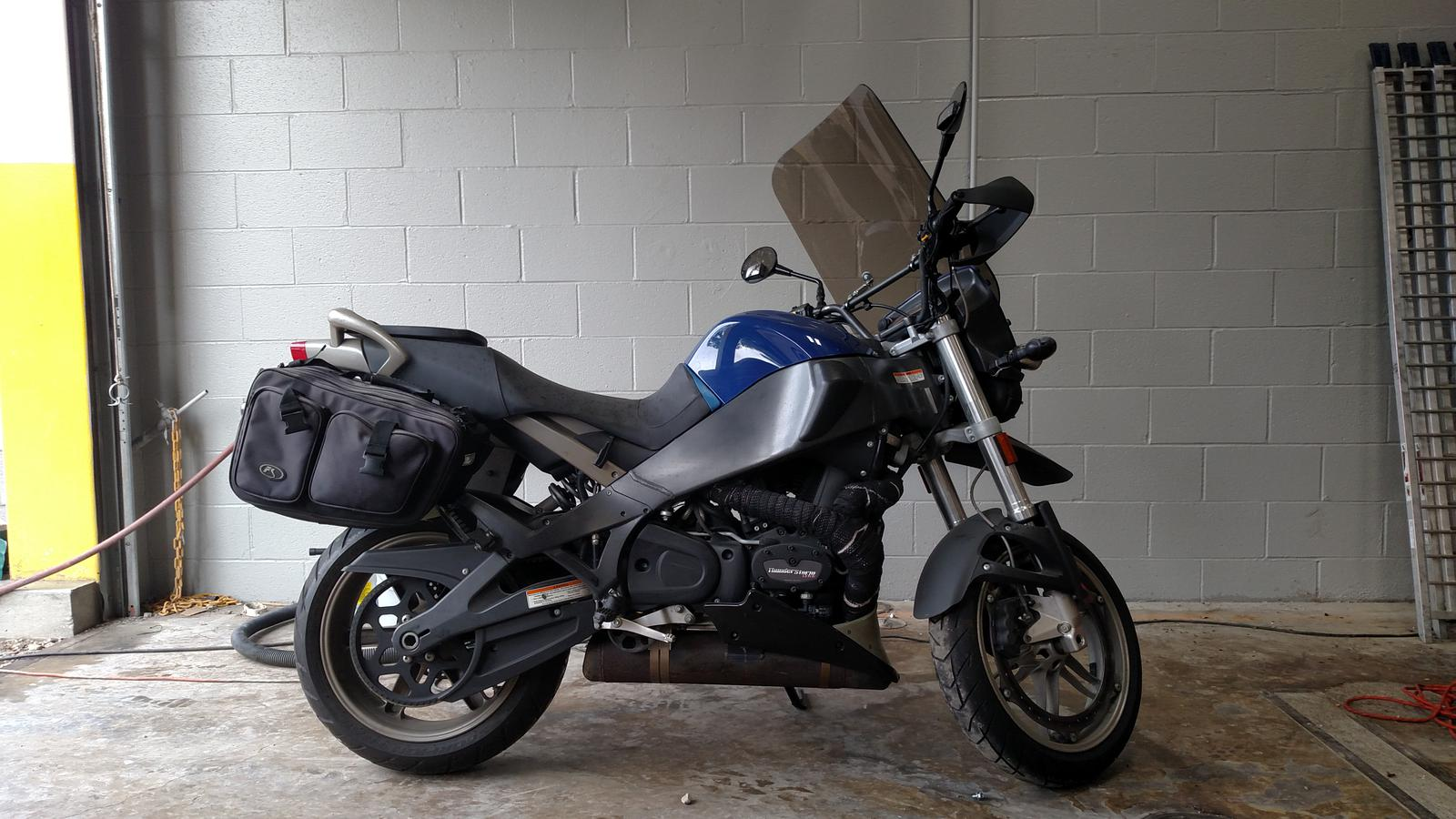 2009 Buell XB12X Adventure, motorcycle listing