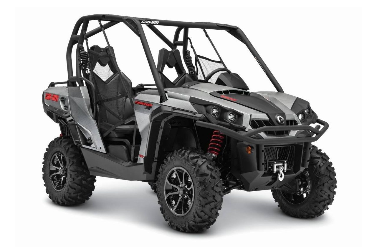 2015 Can-Am Commander XT 1000 - Brushed Aluminum, motorcycle listing