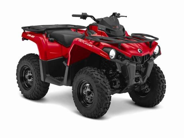 2015 Can-Am Outlander 800R, motorcycle listing