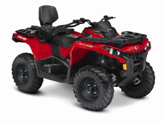 2015 Can-Am Outlander L MAX 450, motorcycle listing