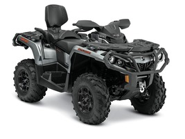 2015 Can-Am Outlander MAX XT 800R Brushed Aluminum, motorcycle listing