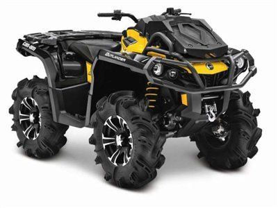 2015 Can-Am Outlander X mr 800R, motorcycle listing
