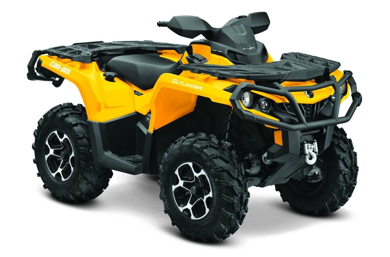 2015 Can-Am Outlander XT 800R, motorcycle listing