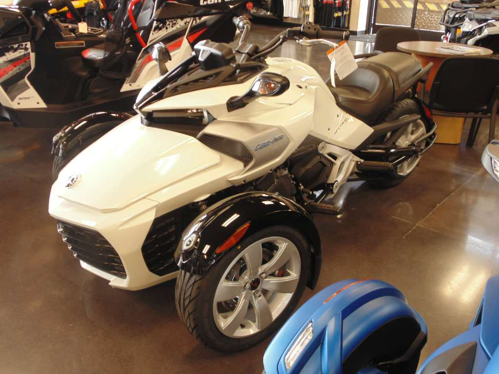 2015 Can-Am Spyder F3 SM6, motorcycle listing